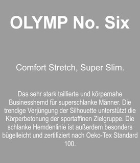 neues Modell OLYMP No. Six