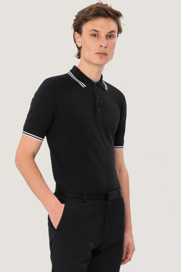 Poloshirt Twin-Stripe